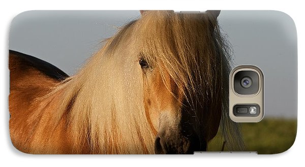 Galaxy Case featuring the photograph Horse With No Name by Gary Bridger