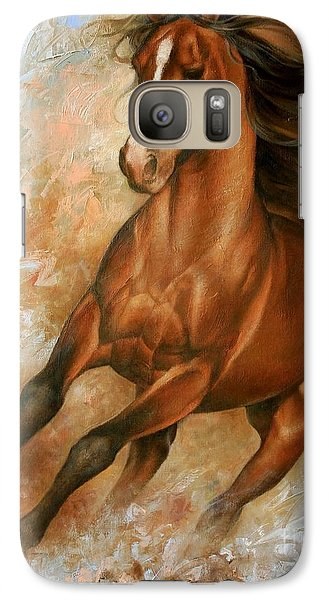 Animals Galaxy S7 Case - Horse1 by Arthur Braginsky