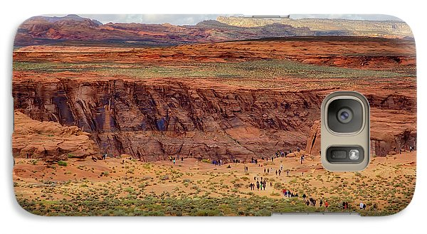 Galaxy Case featuring the photograph Horseshoe Bend Arizona #2 by Jennifer Rondinelli Reilly - Fine Art Photography