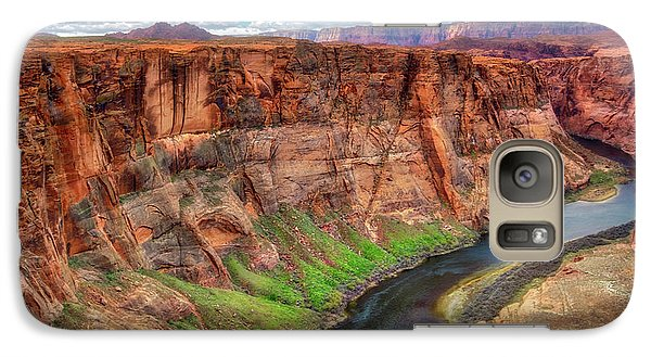 Galaxy Case featuring the photograph Horseshoe Bend Arizona - Colorado River #5 by Jennifer Rondinelli Reilly - Fine Art Photography