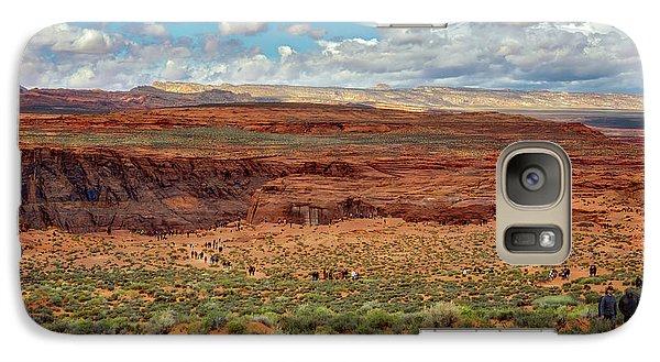 Galaxy Case featuring the photograph Horseshoe Bend  - Arizona by Jennifer Rondinelli Reilly - Fine Art Photography