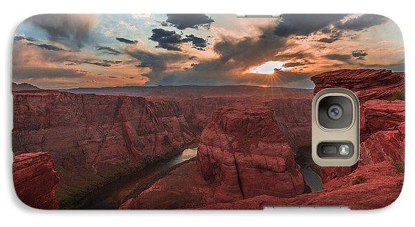 Horseshoe Bend Sunset Galaxy S7 Case