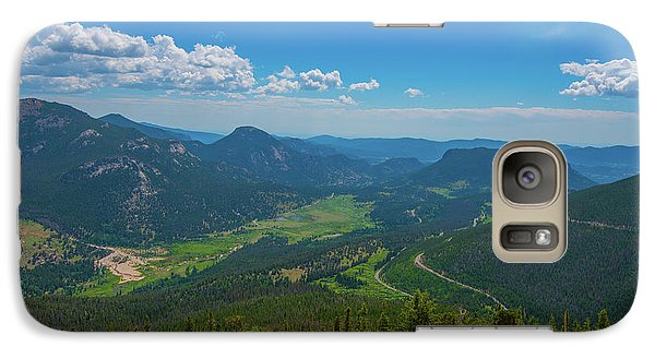 Galaxy Case featuring the photograph Horseshoe Park From Rainbow Curve 1 by Tom Potter