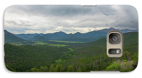 Galaxy Case featuring the photograph Horseshoe Park From Rainbow Curve 2 by Tom Potter