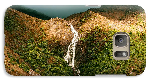 Horsetail Falls In Queenstown Tasmania Galaxy S7 Case by Jorgo Photography - Wall Art Gallery