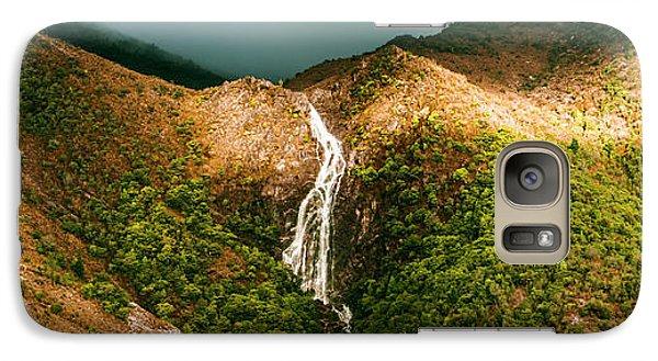 Horsetail Falls In Queenstown Tasmania Galaxy S7 Case