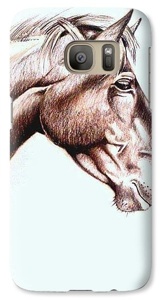 Galaxy S7 Case - Horsing Around  by Janine Bouwer