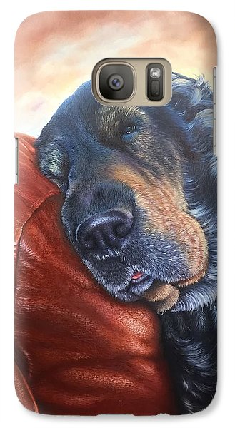 Galaxy Case featuring the painting Hoss by Mike Ivey
