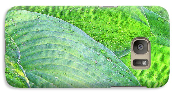 Galaxy Case featuring the photograph Hosta Lavista Baby by Traci Cottingham