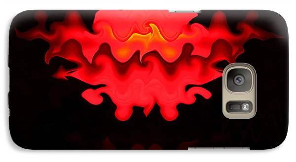 Galaxy Case featuring the photograph Hot Lips by Kristin Elmquist