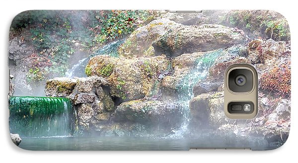 Galaxy Case featuring the photograph Hot Springs In Hot Springs Ar by Diana Mary Sharpton