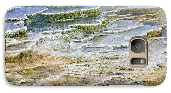 Galaxy Case featuring the photograph Hot Springs Runoff by Gary Lengyel