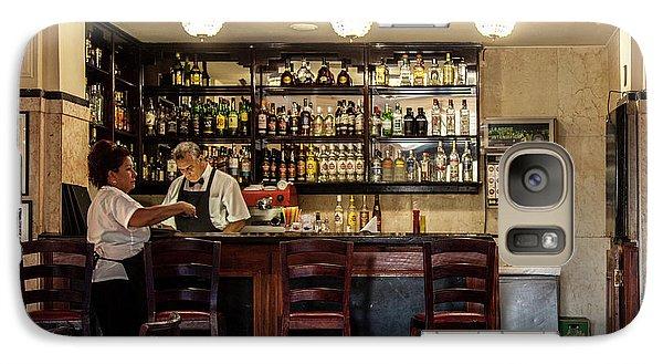 Galaxy Case featuring the photograph Hotel Presidente Bar Havana Cuba by Charles Harden