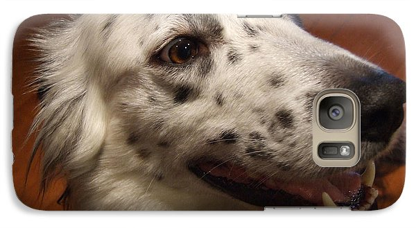 Galaxy Case featuring the photograph 'houlie' by Mark Alan Perry