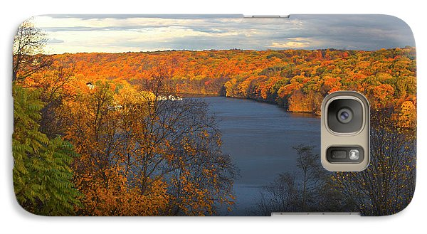 Galaxy Case featuring the photograph Housatonic In Autumn by Karol Livote