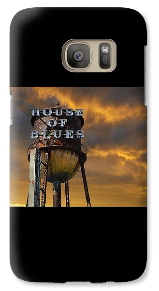 Galaxy Case featuring the photograph House Of Blues  by Laura Fasulo