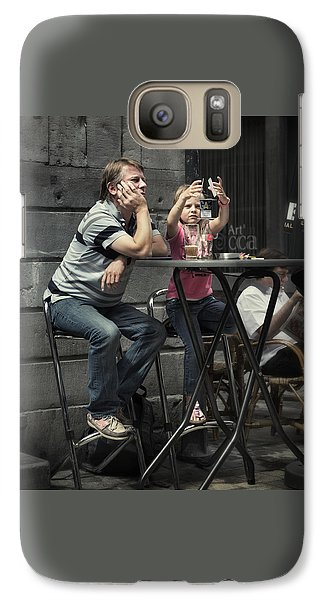 Galaxy Case featuring the photograph House Of Cards by Michel Verhoef