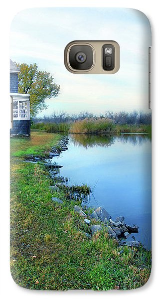 Galaxy Case featuring the photograph House On A Lake by Jill Battaglia