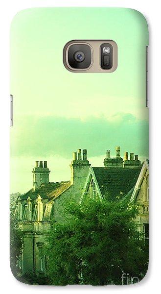 Galaxy Case featuring the photograph Houses by Jill Battaglia