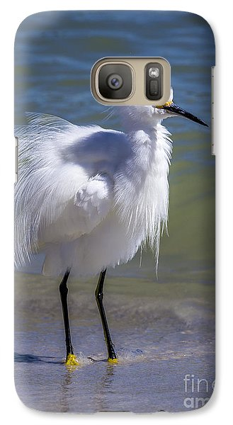Egret Galaxy S7 Case - How Do I Look by Marvin Spates