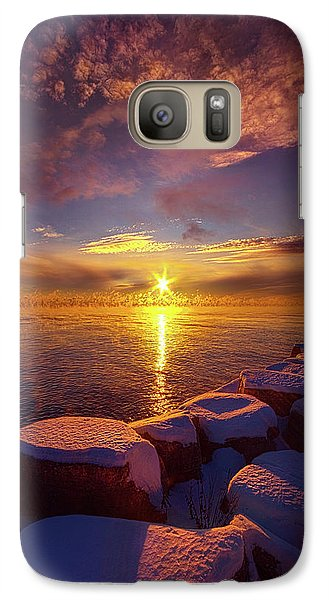 Galaxy Case featuring the photograph How Loud The Silence Is by Phil Koch