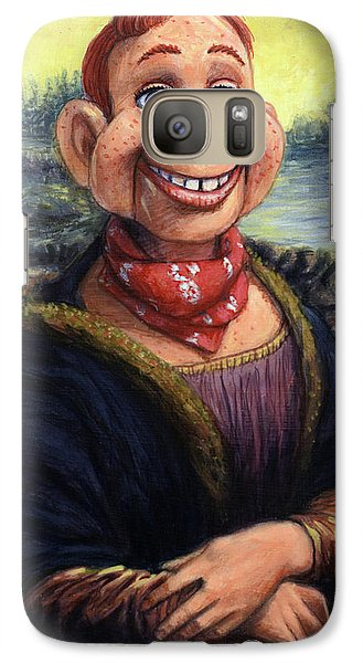 Galaxy Case featuring the painting Howdy Doovinci by James W Johnson