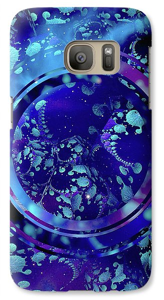 Galaxy Case featuring the painting Hubble 3014 by Susan Maxwell Schmidt
