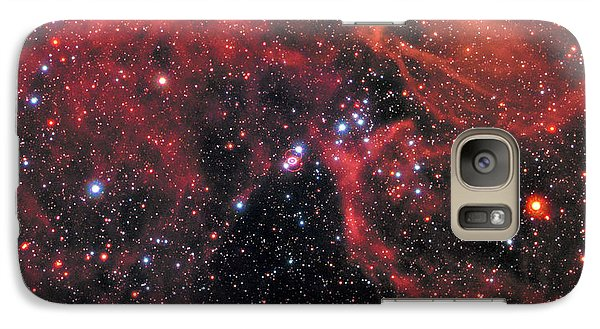 Galaxy Case featuring the photograph Hubble Captures Wide View Of Supernova 1987a by Nasa