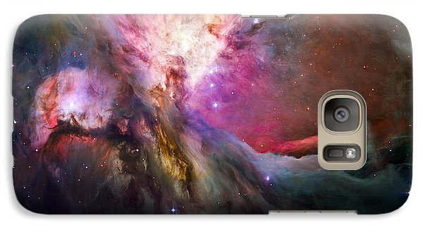 Hubble's Sharpest View Of The Orion Nebula Galaxy S7 Case by Adam Romanowicz