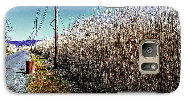 Hudson River Winter Walk Galaxy S7 Case