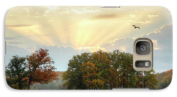 Galaxy Case featuring the photograph Hudson Springs Morning by Ann Bridges