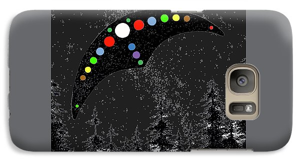 Galaxy Case featuring the painting Hudson Valley Ufo by James Williamson