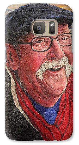 Hugh Hanson Davidson Galaxy S7 Case by Tom Roderick