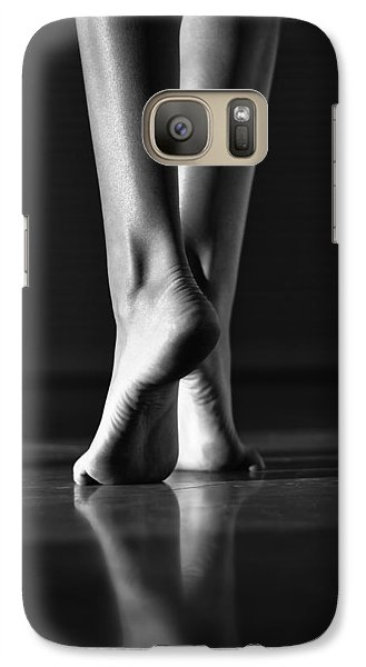 Galaxy Case featuring the photograph Human by Laura Fasulo