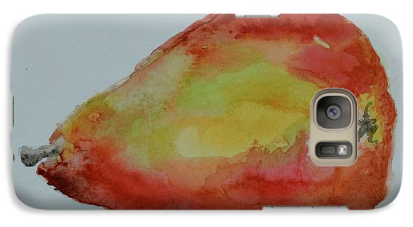 Galaxy Case featuring the painting Humble Pear by Beverley Harper Tinsley