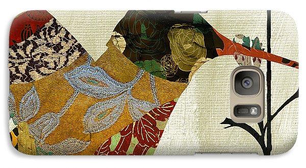 Hummingbird Brocade IIi Galaxy S7 Case by Mindy Sommers