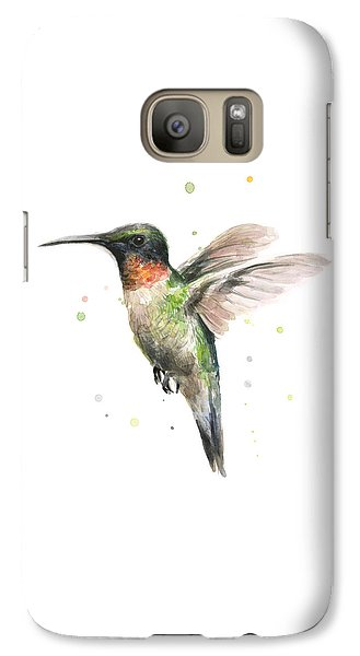 Hummingbird Galaxy S7 Case by Olga Shvartsur