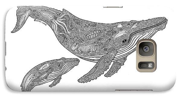 Humpback And Calf Galaxy S7 Case
