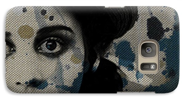 Galaxy Case featuring the mixed media Hungry Eyes by Paul Lovering