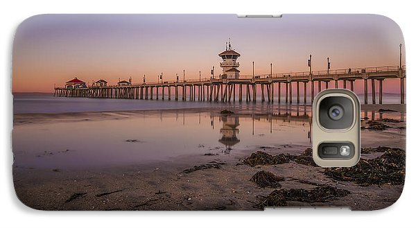 Galaxy Case featuring the photograph Huntington Beach Pier by Sean Foster