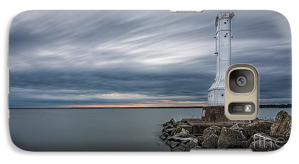 Huron Harbor Lighthouse Galaxy S7 Case by James Dean
