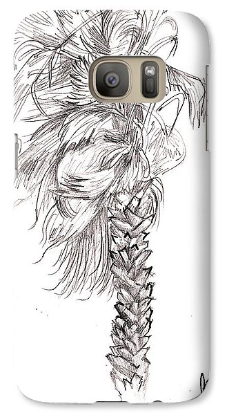 Galaxy Case featuring the drawing Hurrracane Winds by Fanny Diaz