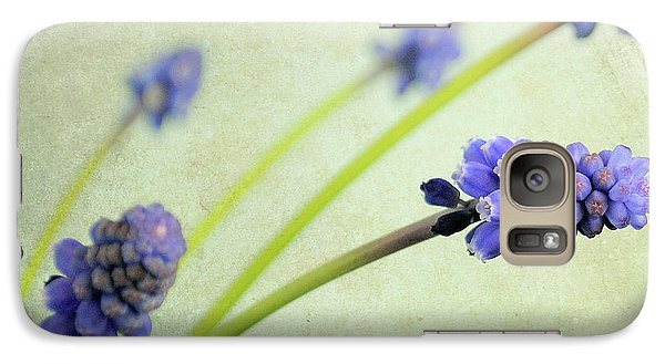 Galaxy Case featuring the photograph Hyacinth Grape by Lyn Randle
