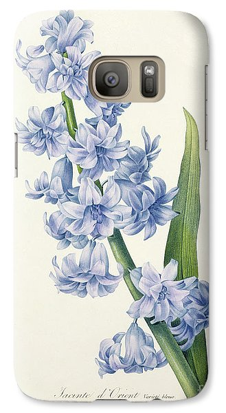 Hyacinth Galaxy Case by Pierre Joseph Redoute