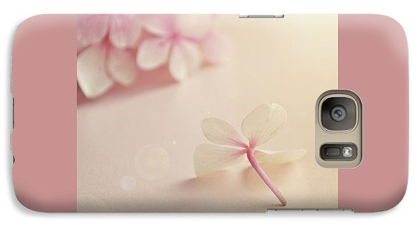 Galaxy Case featuring the photograph Hydrangea Flower by Lyn Randle