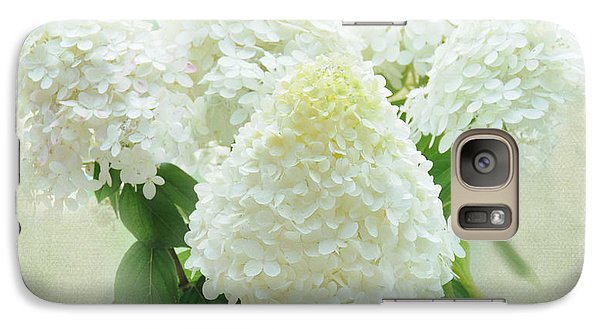 Galaxy Case featuring the photograph Hydrangeas by Geraldine Alexander