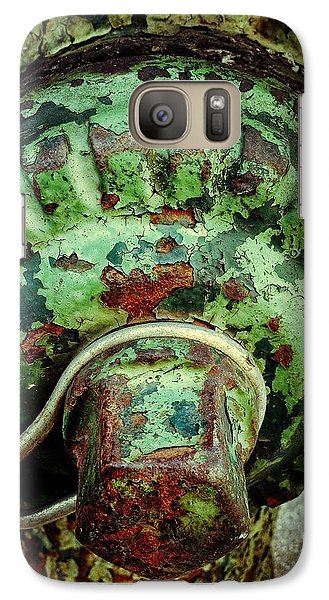 Galaxy Case featuring the photograph Hydrant 255 by Olivier Calas