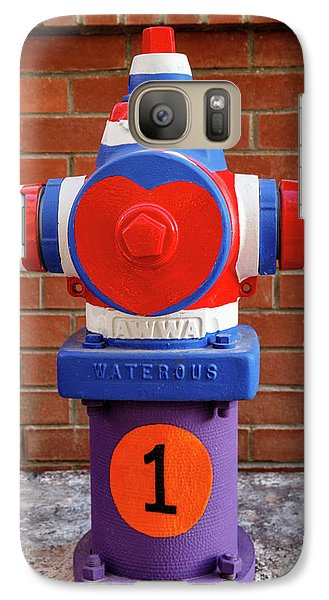 Galaxy Case featuring the photograph Hydrant Number One by James Eddy