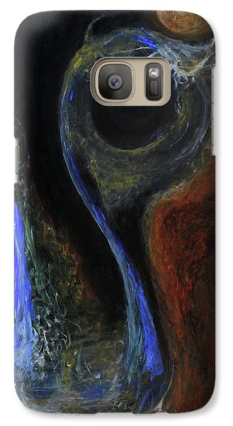 Galaxy Case featuring the painting Hydrogen Fiend by Christophe Ennis