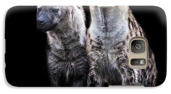 Griffon Galaxy S7 Case - Hyena Lookout by Martin Newman